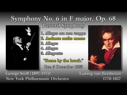 Beethoven: Symphony No. 6, Szell & NYP (1955) ベートーヴェン 交響曲第6番 セル