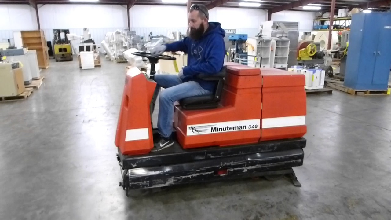ol scrubbers floor auto minuteman dura lt inch scrubber walk clean electric cord behind floors automatic trusted
