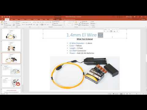El Wire 101 Understanding El Wire