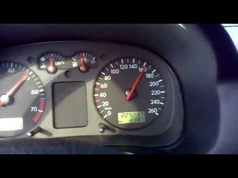 Vw bora 2001 1.6 8v 102 hp 0-190 speed