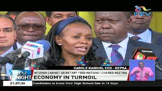Government, private sector meet to strategise on how to stimulate the economy