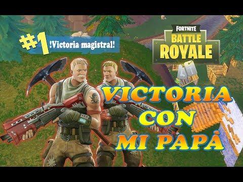 VICTORIA CON MI PAPÁ