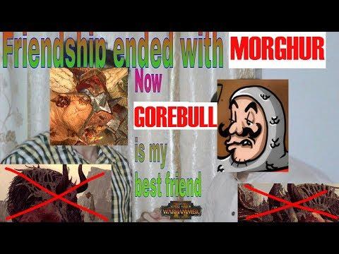 DOUBLE GOREBULL META - Beastmen vs Empire, High Elves // Total War: Warhammer II Online Battle