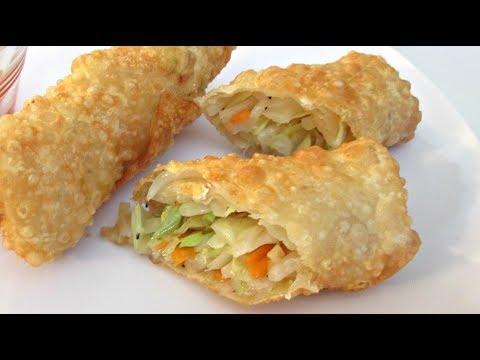 Egg Rolls - Deep Fried Vegetable Recipe - PoorMansGourmet