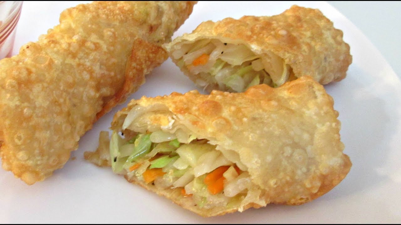Egg Rolls - Deep Fried Vegetable Recipe - PoorMansGourmet - YouTube