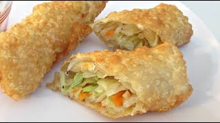 Egg Rolls - Deep Fried Vegetable Recipe - Poormansgourmet