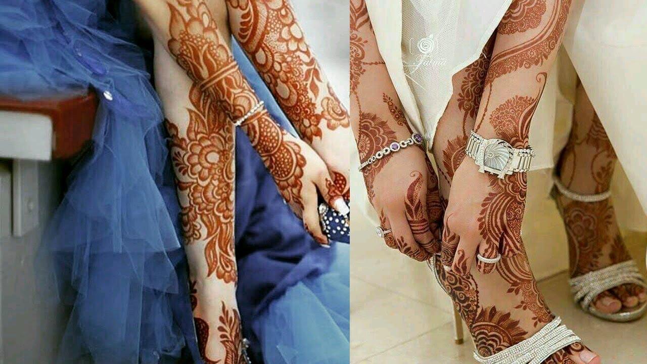 صور نقش حناء اماراتي للعرايس