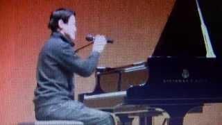 2011.1.3 横浜みなとみらいホール 持ち時間15分間にたくさんの曲をご...