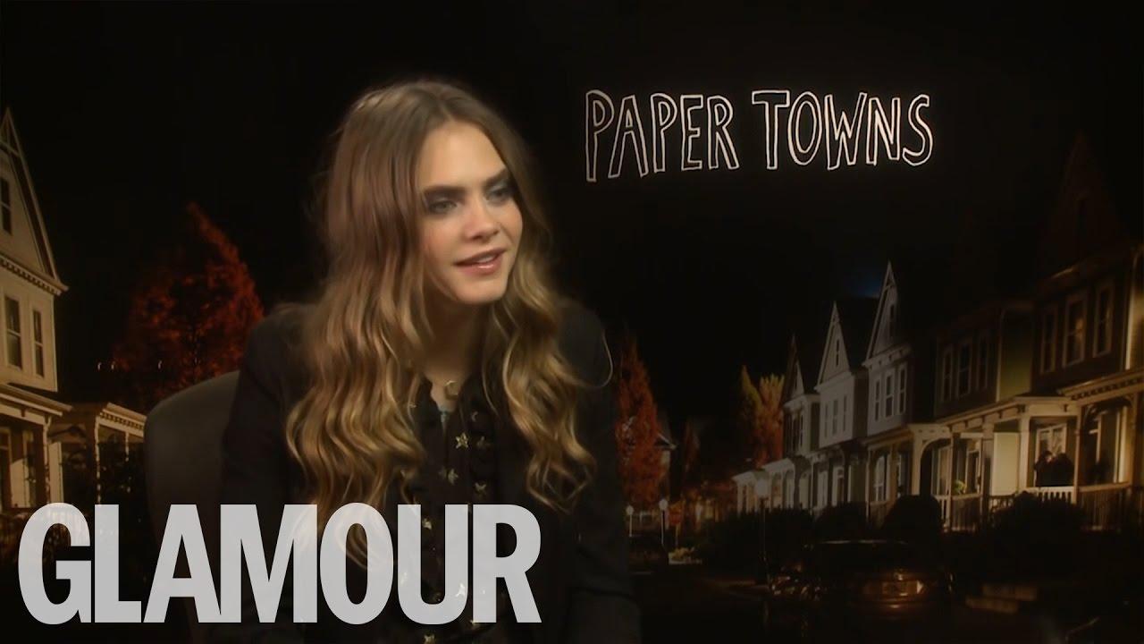 Cara Delevingne talks Paper Towns | Glamour UK