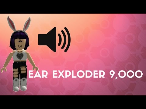 ear exploder roblox id
