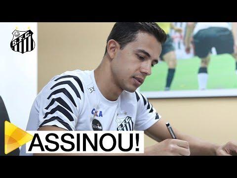 Nilmar assina e é o novo reforço do Santos FC