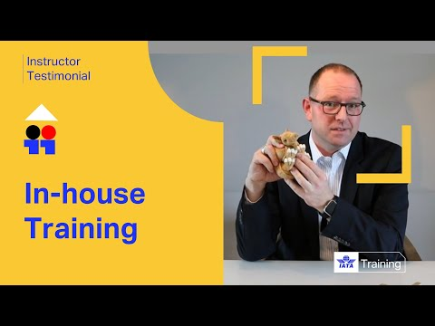 IATA Training | In-house training | Instructor Testimonial