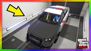 😭 ROCKSTAR GAMES PRANKT GLITCHER !! | POLIZEI AUTO IN MOC GLITCH IN GTA ONLINE 🚔 | WFG HD