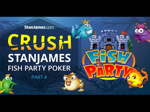 How To Crush Stan James Poker Fish Party Spin and Go's Part 4