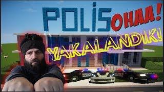 OHAA ! Polise Yakalandık ! 10 Numara Hayran Haritası - MCPE Türkçe #26