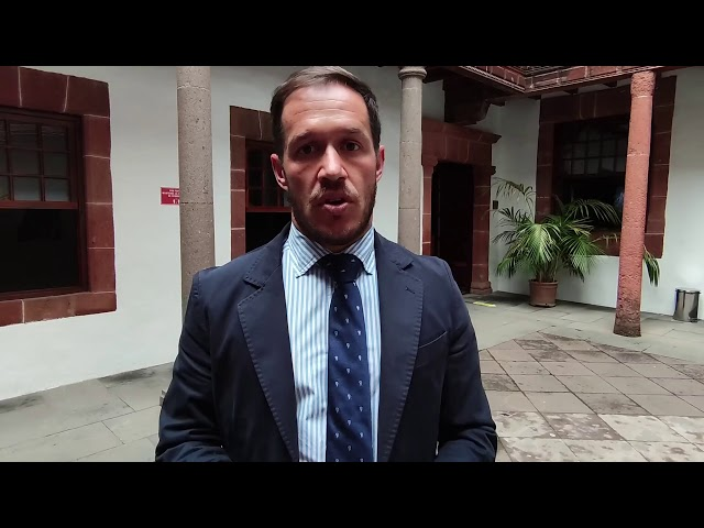 Declaraciones del Presidente del Cabildo de La Palma referente a la reunión de la Fecai