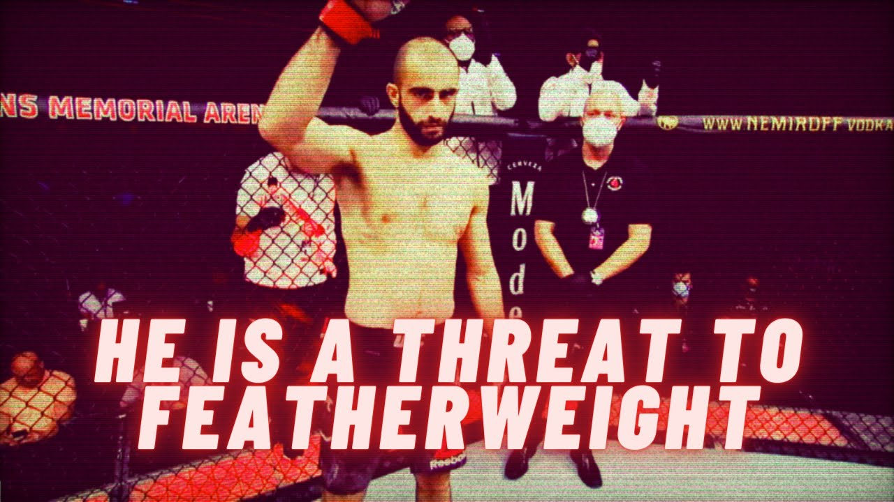 Giga Chikadze is a legit threat in the UFC's featherweight division