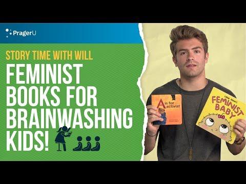 Feminist Books For Brainwashing Kids