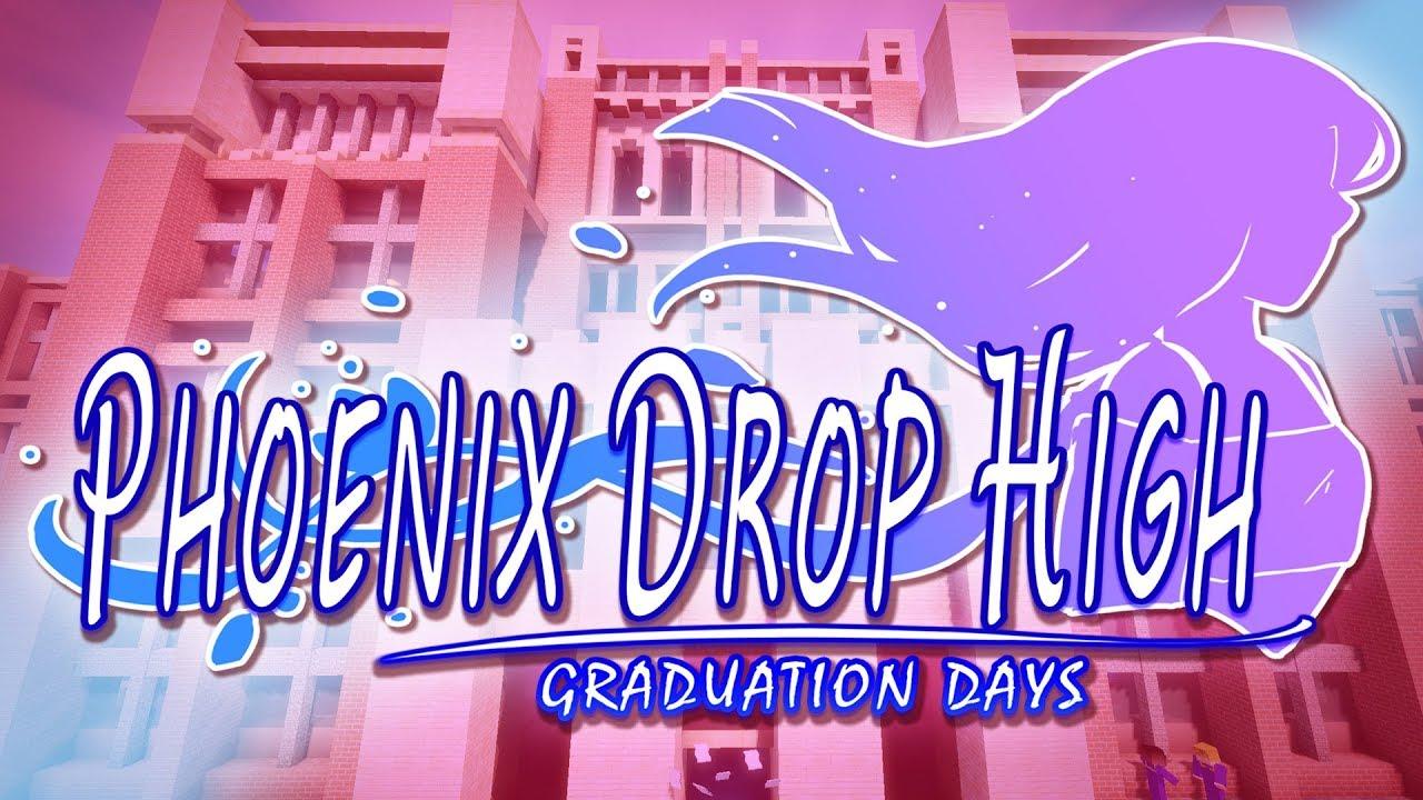 last-day-of-school-phoenix-drop-high-graduation-days-ep-1-minecraft-roleplay