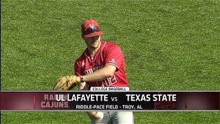 2015 Sun Belt Conference Baseball Championship: UL Lafayette vs Texas State Semifinal Highlights