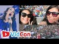 TYLER OAKLEY, MIRANDA SINGS, AND EXTREME FANS VidCon US 2017