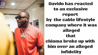 Davido react to break up rumor with chioma. #davido #chioma #assurance