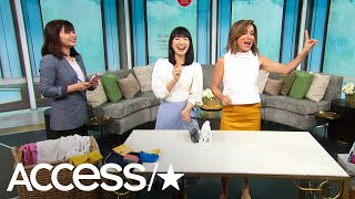 Marie Kondo Shares Life-Changing Tips For Tidying Up!   Access