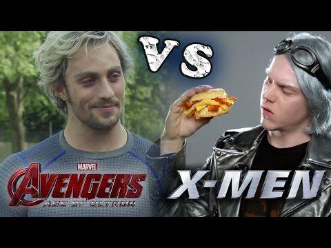 Play QUIKSILVER VS QUICKSILVER ¿Cual me gusto mas? #Avengers Age Of Ultron - VERSUS / Nik Strange
