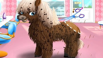 Animal Hair Salon - Kids Summer Fun Game - Furry Pets Haircut and Style Makeover Games For Kids