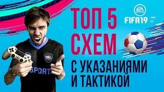 Кращі Схеми і Тактика FIFA 19