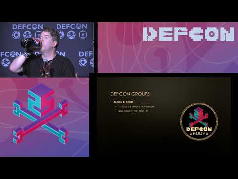 DEF CON 25 - Jeff Moss and Panel - DEF CON Groups Panel
