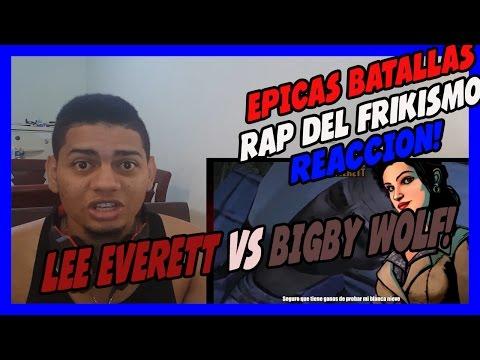 Lee Everett vs Bigby Wolf - Épicas Batallas de Rap del Frikismo - Keyblade - VIDEO REACCION!!!