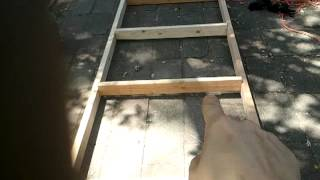 Build A Rabbit Hutch: The Top Frame