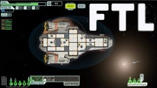 I DIE IN SPACE!! - FTL Gameplay (AMAZING SPACE PC GAME)