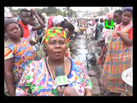 Petty traders embark on clean-up exercise