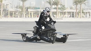 Dubai Police Unveil flying bike ||Hoverbikw S3 2019||