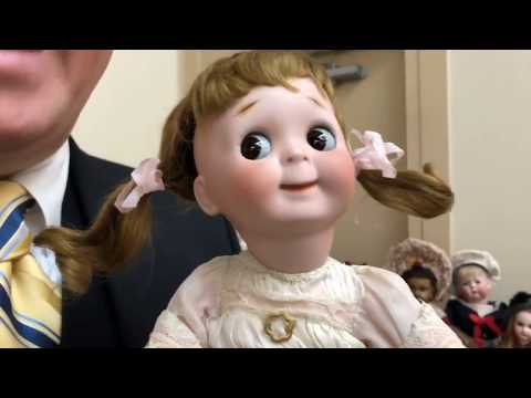Antique Doll Talk with Michael Canadas in Baltimore, Maryland