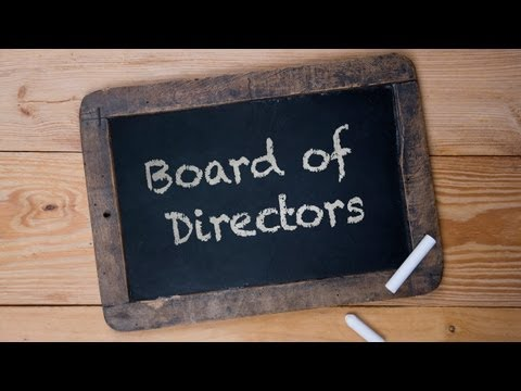 What Does A Board Of Directors Do?? - Ask Jay