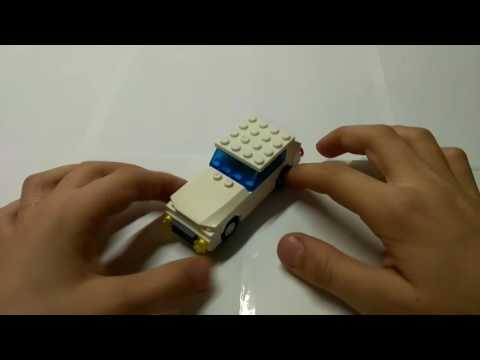 Как сделать машинку из лего видео