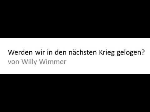 Werden wir in den nächsten Krieg gelogen? von Willy Wimmer