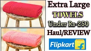 Affordable Towels from Flipkart | Haul / REVIEW