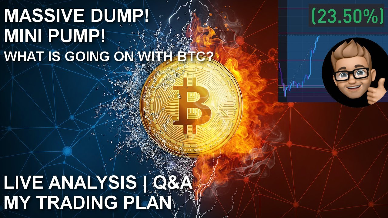 WHAT IS UP WITH BTC? | MY TARGETS | LIVE ANALYSIS Q&A