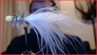 3 x GOLD HUMUNGUS WITH WHITE TAIL BOOBY Size10 TROUT FISHING FLIES BB59
