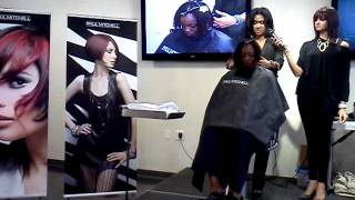 Varji and Varji salon visiting Paul Mitchell pt 2