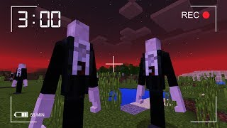Do NOT Look for Slenderman in Minecraft Pocket Edition at 3 AM! (SECRET RECORDING)