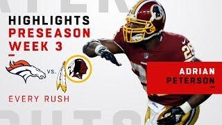 Every Adrian Peterson Rush vs. Broncos