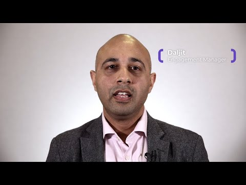 Daljit , Engagement Manager at Expleo - Creating an online shopping experience