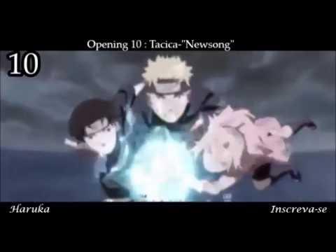 Top Aberturas De Naruto Shippuuden