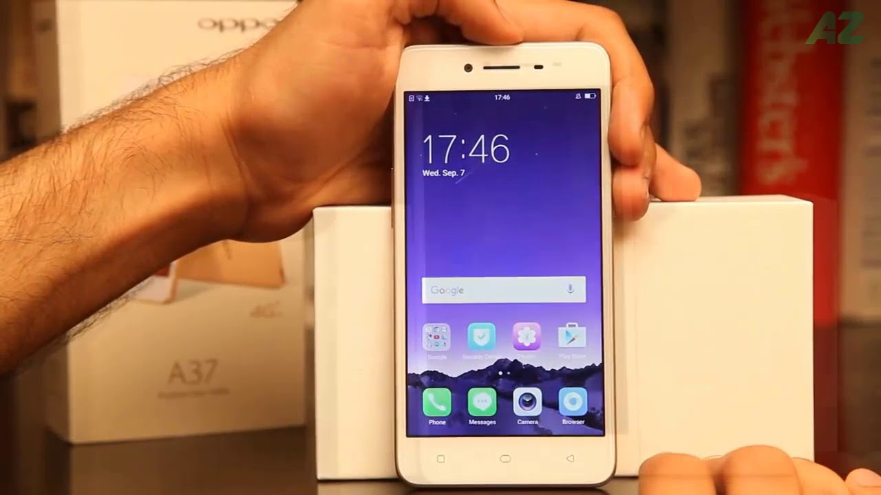 Review The Best Oppo A37 Smart Phone 2018