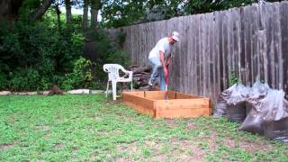 Build And Install A 6'x3' Raised Garden Bed